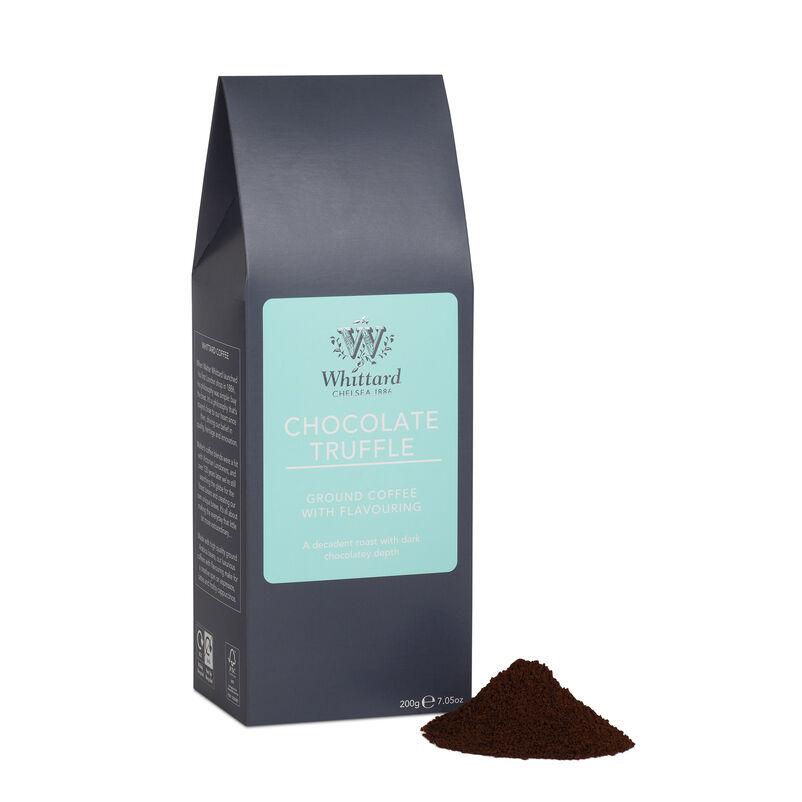 Chocolate Truffle flavour coffee, ground coffee, flavoured coffee, coffee flavours, chocolate coffee, fresh coffee