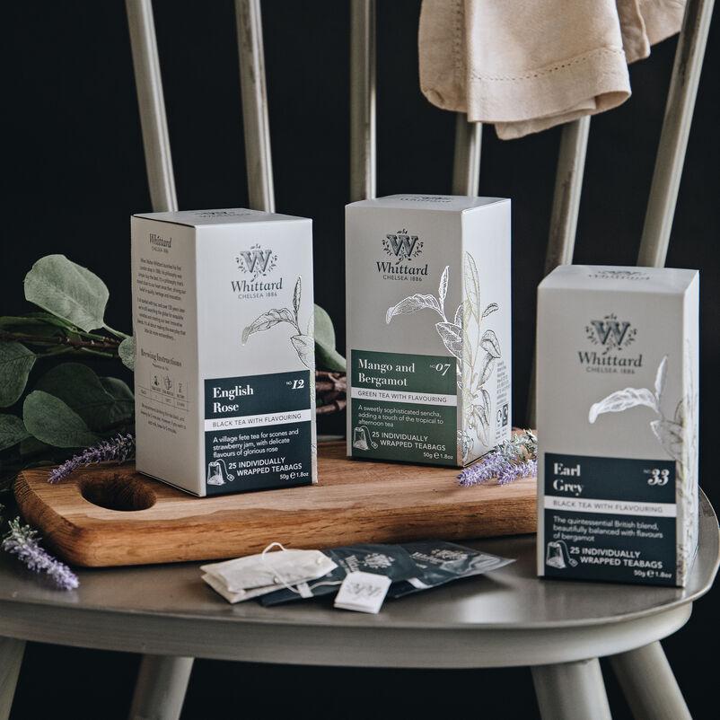 Selection of Whittard teas